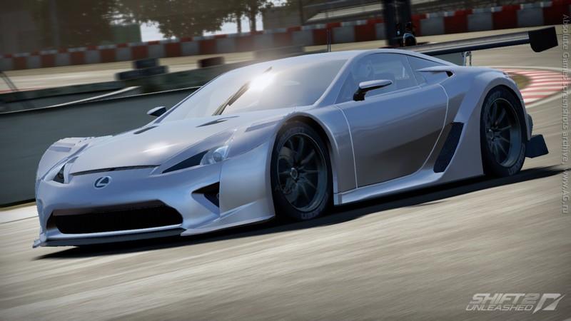 انفراد تام ملكة سباقات سيارات Need For Speed SHIFT Unleashed بمساحة