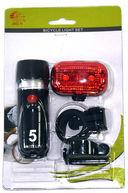 Комплект фонарей для велосипеда