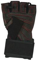 Перчатки атлетические SU-123 (M; чёрные) — фото, картинка — 1