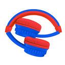 Наушники беспроводные детские Elari FixiTone Air (сине-красные) — фото, картинка — 1