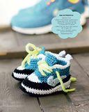 Вяжем обувь для малышей, как у мамы с папой. Крючок — фото, картинка — 4