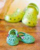 Вяжем обувь для малышей, как у мамы с папой. Крючок — фото, картинка — 6