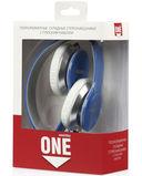 Полноразмерные наушники SmartBuy ONE, складная конструкция, плоский кабель, синий (SBE-9420) — фото, картинка — 2