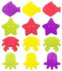 Набор мини-ковриков для ванночки (12 шт.; арт. RBM-010-8) — фото, картинка — 2