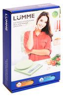 Кухонные весы Lumme LU-1343 (зеленый нефрит) — фото, картинка — 1