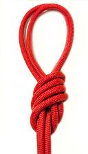 Скакалка для художественной гимнастики Pro 10103 (красная) — фото, картинка — 1