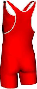 Трико борцовское MA-401 (р. 38; красное) — фото, картинка — 1