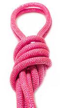 Скакалка для художественной гимнастики Pro 10104 (розовая) — фото, картинка — 2