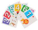 Считаем от 1 до 12. Набор карточек для детей — фото, картинка — 1