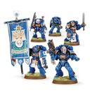 Warhammer 40.000. Space Marines. Command Squad (48-17) — фото, картинка — 2